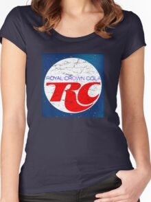 Vintage RC Cola design Women's Fitted Scoop T-Shirt