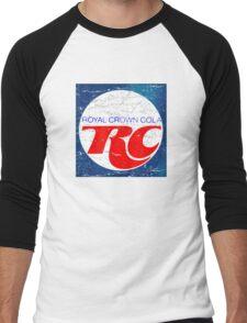 Vintage RC Cola design Men's Baseball ¾ T-Shirt