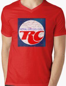 Vintage RC Cola design Mens V-Neck T-Shirt
