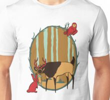 Lantern-Deer and Friends Unisex T-Shirt