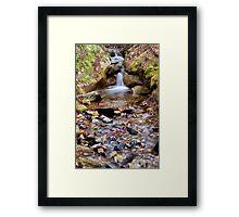 Boquet River Cascades Framed Print