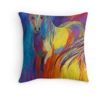 Equus Iris Throw Pillow