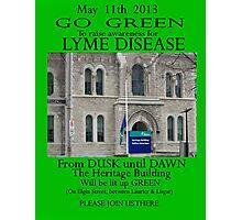 Ottawa goes GREEN May 11th 2013 Photographic Print