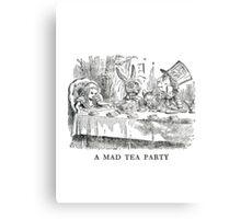 "Alice In Wonderland ""Mad Tea Party""   Canvas Print"