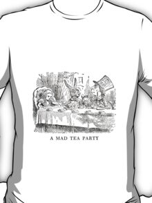 "Alice In Wonderland ""Mad Tea Party""   T-Shirt"