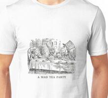 "Alice In Wonderland ""Mad Tea Party""   Unisex T-Shirt"