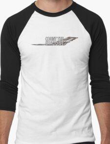 Dr. who Count the Shadows.  Men's Baseball ¾ T-Shirt