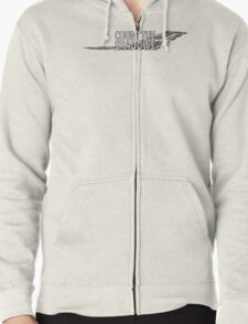 Dr. who Count the Shadows.  Zipped Hoodie