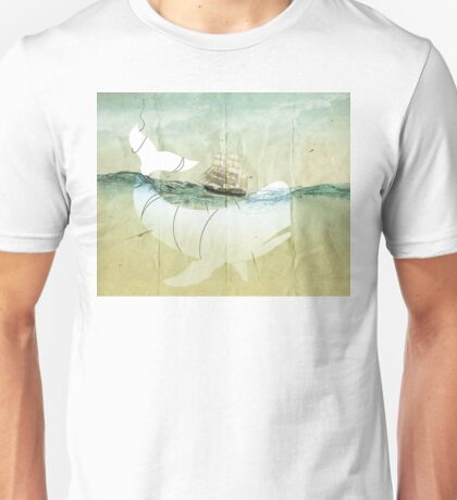 Moby Dick, the crusade Unisex T-Shirt