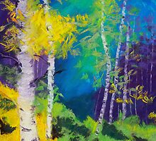 Abstract Aspens by danastrotheide
