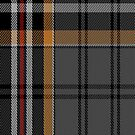 02264 Shawl Buchanan Unidentified Fashion Tartan Fabric Print Iphone Case by Detnecs2013
