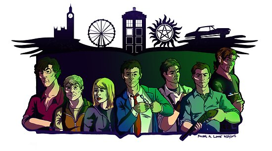 SuperWhoLock by RachelMLoose