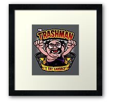 The Trashman Framed Print