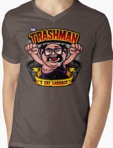 The Trashman Mens V-Neck T-Shirt