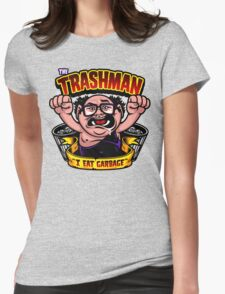 The Trashman Womens Fitted T-Shirt
