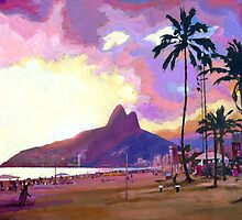 Por do Sol by Douglas Simonson