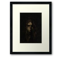 the weeping veil Framed Print