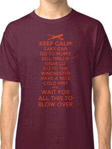 Keep Calm and Blow Over Classic T-Shirt
