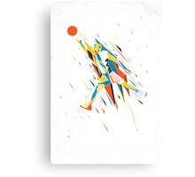 Basketball Energy Canvas Print