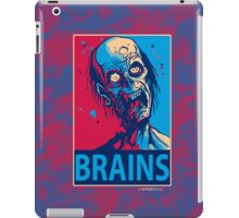 BRAINS Zombie Poster iPad Case iPad Case/Skin