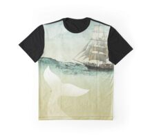 White Tail Graphic T-Shirt