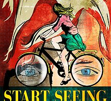Start Seeing Bicycles by cechdesigns