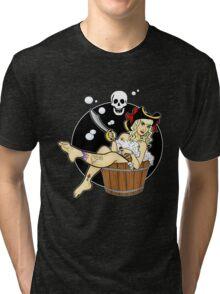 Pirate Amy Tri-blend T-Shirt