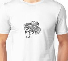 Nikon FE with MD-12 Motor Drive Drawing Unisex T-Shirt