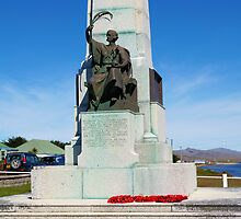 1914 War Memorial, Stanley, Falkland Islands by Geoffrey Higges
