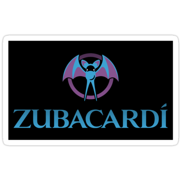 Zubacardí (Sticker) by thom2maro