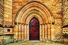 Cathedral #1 - Church Door by vilaro Images