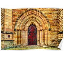 Cathedral #1 - Church Door Poster