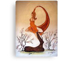 Art Nouveau -  'Mother Nature' Canvas Print