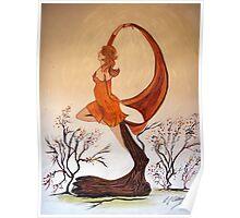 Art Nouveau -  'Mother Nature' Poster