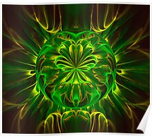 Four Leaf Clover Poster