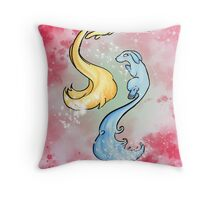 Pixie Tails Throw Pillow