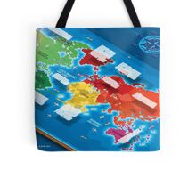 World Map in Isometric Tote Bag
