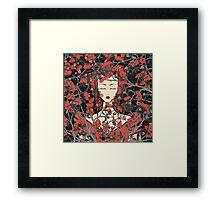 Sleeping Beauty - Oriental Version Framed Print