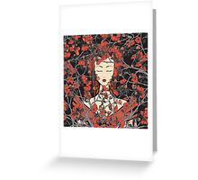 Sleeping Beauty - Oriental Version Greeting Card