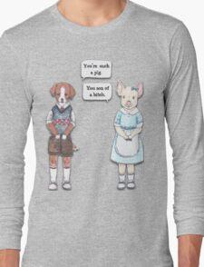 Animal Puns Long Sleeve T-Shirt