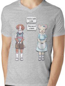 Animal Puns Mens V-Neck T-Shirt