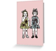 Zombie Tots Greeting Card