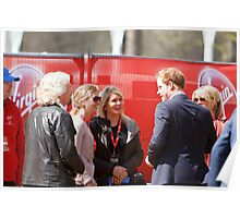 Prince Harry at The Virgin London Marathon 2013 Poster