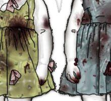 Zombie Tots Sticker