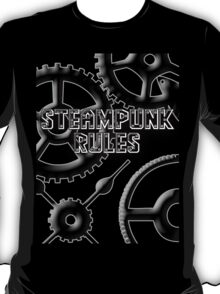 Steampunk Rules T-Shirt