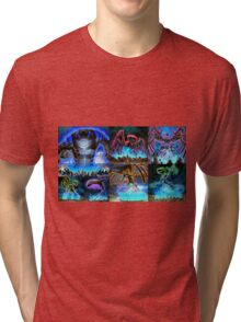 Fan art Yu gi oh 5ds Tri-blend T-Shirt