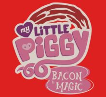 My Little Piggy - Bacon is Magic Kids Tee
