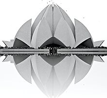 Lotus Temple by fernblacker