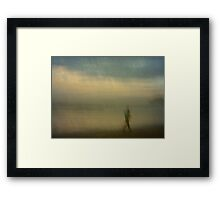 Walk it Down Framed Print