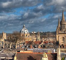 Oxford Skyline by mlphoto